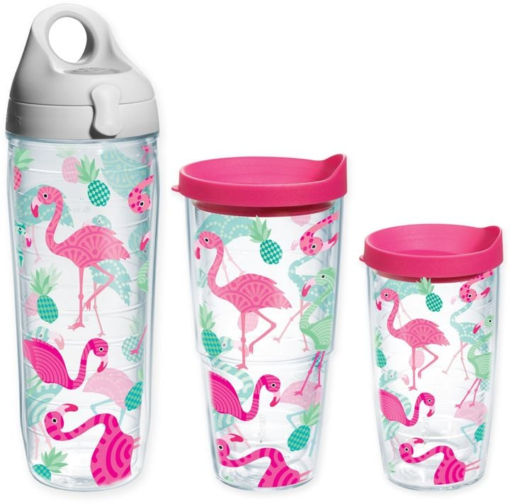 Tervis Whimsical Flamingo Wrap Tumbler With Lid ($17-$19)