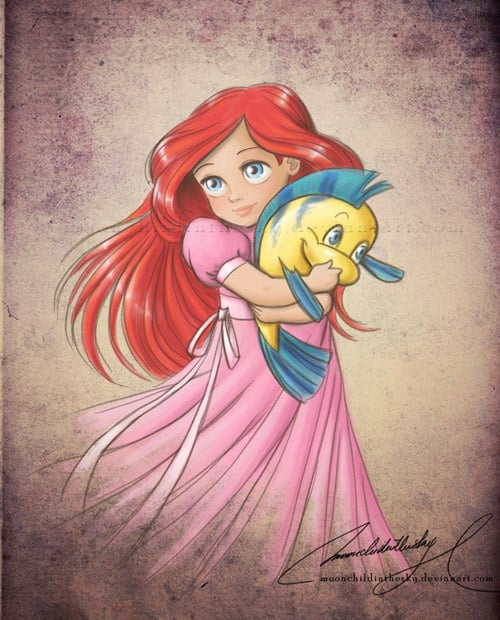 Child Princess Ariel