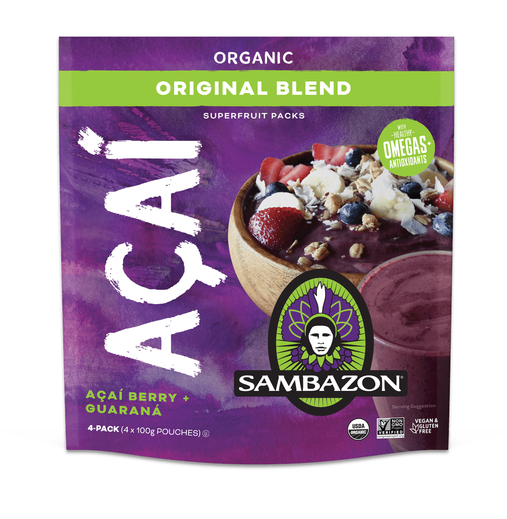 Sambazon Acaí Superfruit Packs ($12)