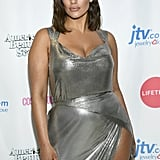 Ashley Graham Silver Chainmail Dress on American Beauty Star