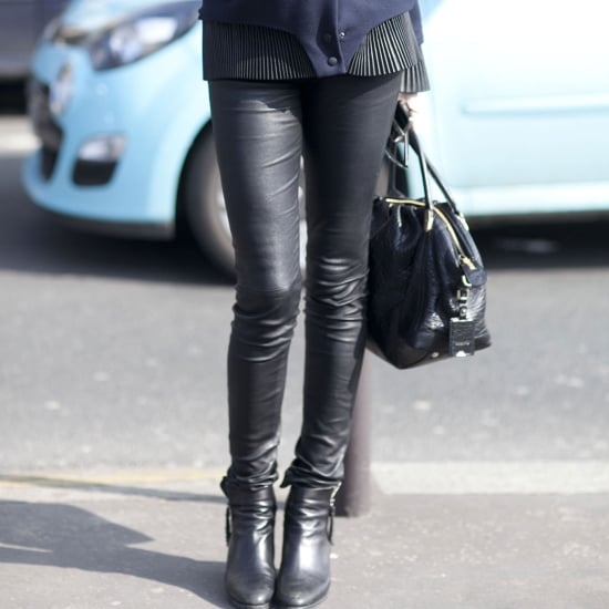 How to Wear Leather Pants | Street Style