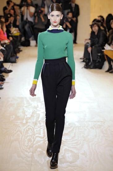 Fall 2011 Milan Fashion Week: Jil Sander