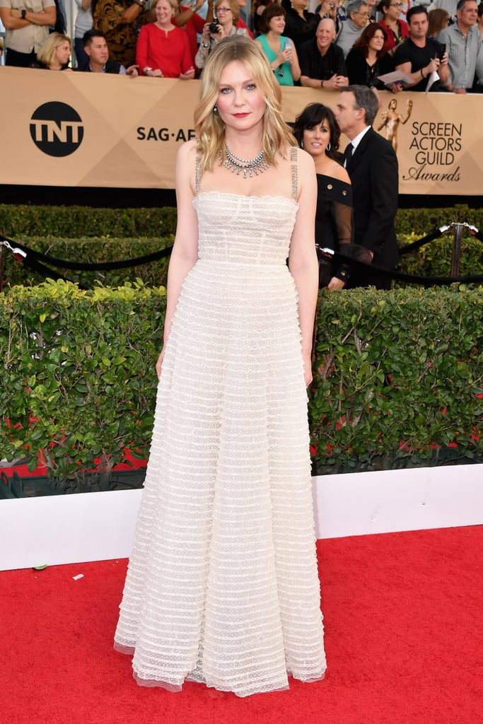 White Dresses at the SAG Awards 2017
