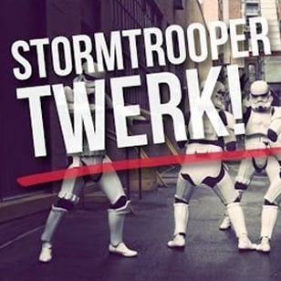 Stormtroopers Twerking Video