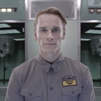Michael Fassbender Prometheus David Video