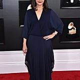 Rashida Jones at the 2019 Grammy Awards