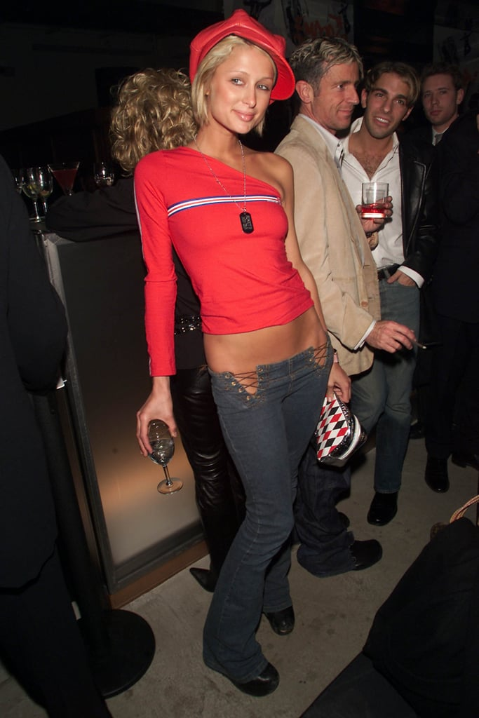 When All Of This Happened Paris Hilton Style 2000s Popsugar Fashion Photo 14
