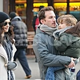 Rachel Weisz and Darren Aronofsky Spend Time Together For Their Son