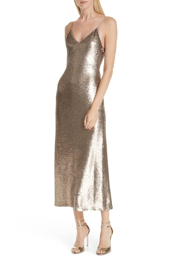 Cinq à Sept Emmalyn Sequin Slip Dress