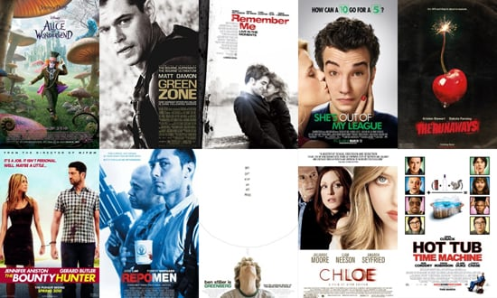 Poll on the Full List of March 2010 Movie Releases Including Alice in Wonderland, Remember Me, and The Runaways