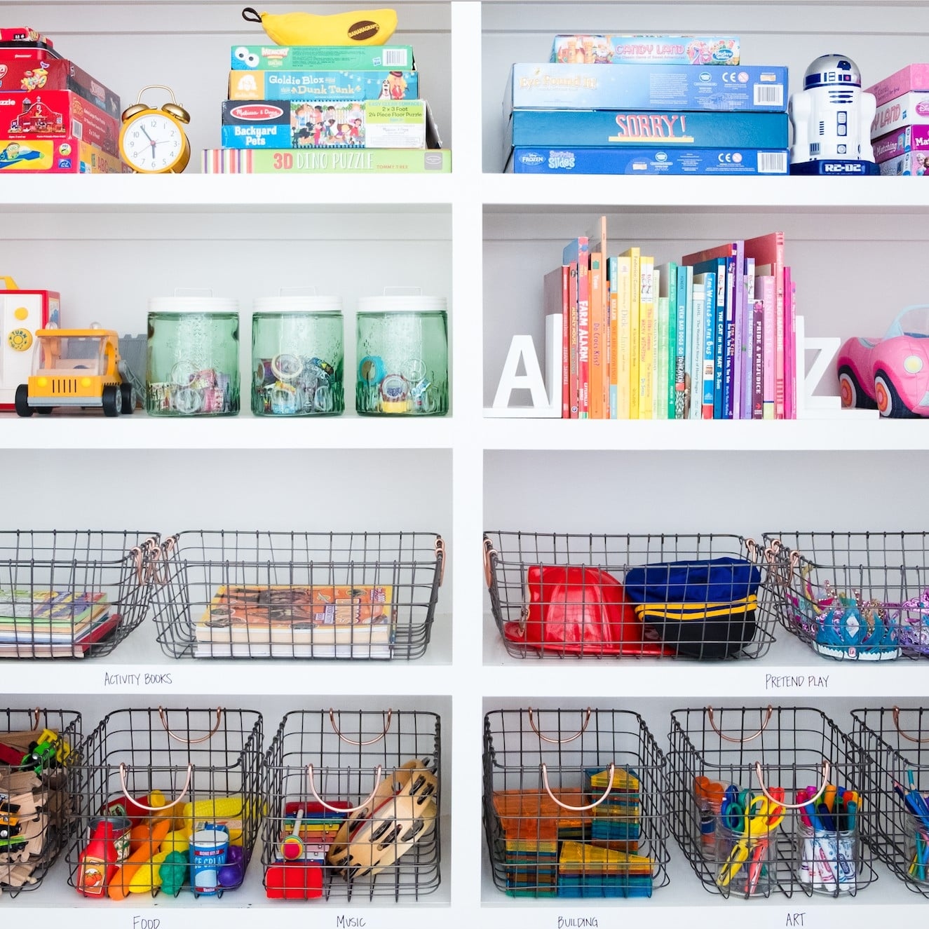 How to Organize Kids\' Toys | POPSUGAR Moms