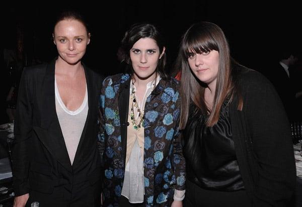 Stella McCartney, Laura Mulleavy, Kate Mulleavy.