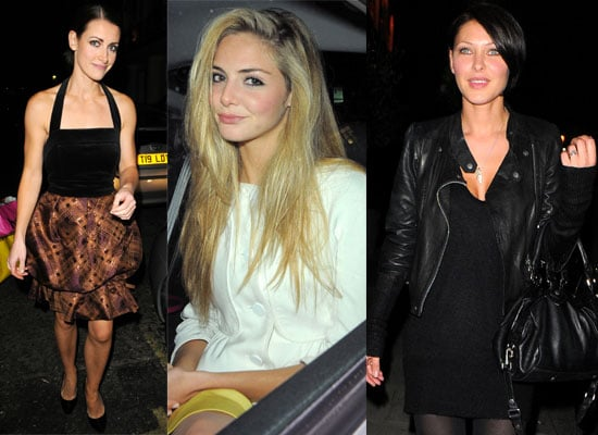 Photos Of Emma Griffiths, Kirsty Gallacher and Tamsin Egerton At The Hair Magazine Awards At The Haymarket Hotel