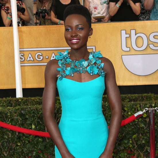Lupita Nyongo Wearing Gucci at the SAG Awards | Pictures