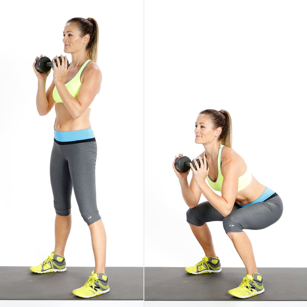 At-Home Workout For Women With Dumbbells | POPSUGAR Fitness