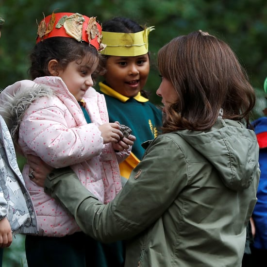 Kate Middleton With Kids at Sayers Croft Forest School 2018
