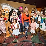 Mariah Carey and Her Twins at Disneyland Birthday Pictures