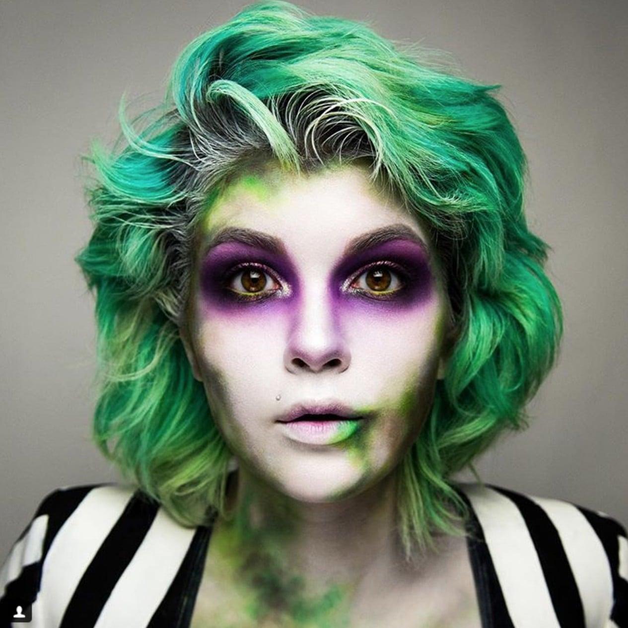 Beetlejuice Halloween Makeup Ideas Popsugar Beauty