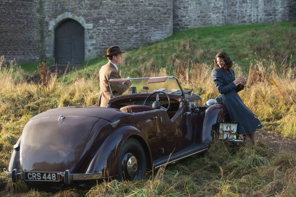 Claire and Frank go for a drive. Courtesy of Starz