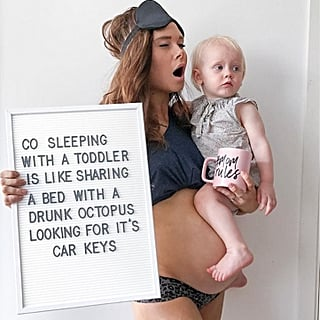 Instagram Mum With Funny Pregnancy Signs