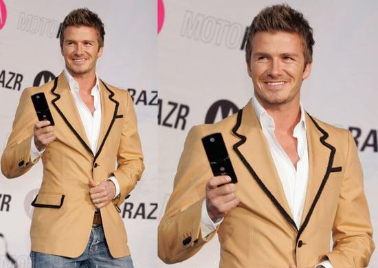David Beckham Makes A Really Good Call