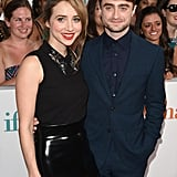 Daniel Radcliffe and Zoe Kazan attended the NYC screening of What If on Monday night.