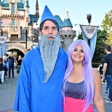 Madam Mim and Merlin