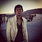 Mr. Chow (Ken Jeong) is back for another go-around.  Source: Instagram user toddphillips1