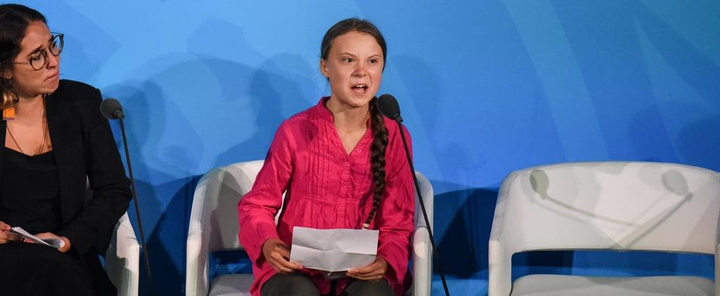 Greta Thunberg's UN Speech on Climate Change