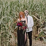 Halloween Corn Maze Wedding Ideas
