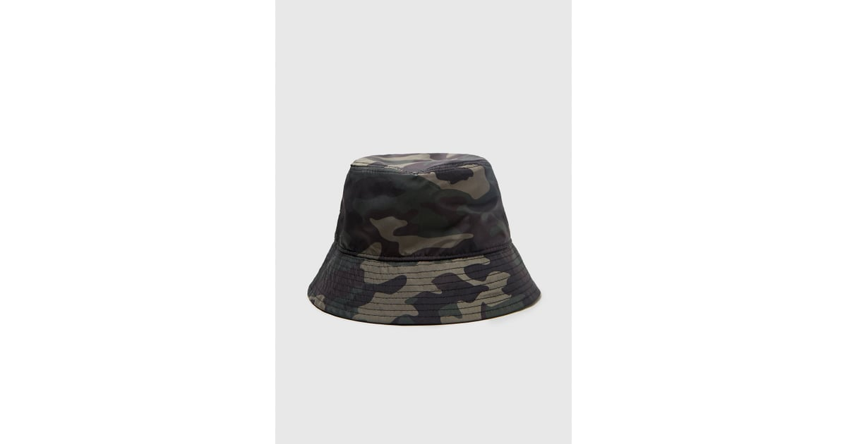 Zara Camouflage Bucket Hat  babea643c87