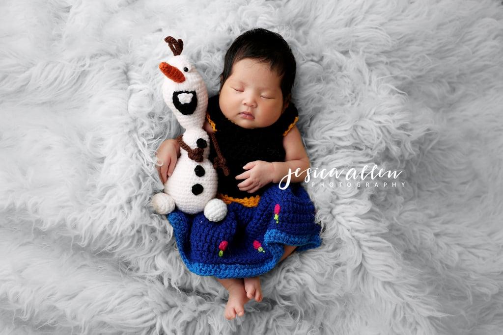 Frozen's Anna Crocheted Costume