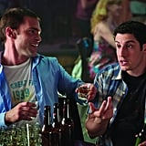 Seann William Scott as Stifler and Jason Biggs as Jim in American Reunion.  Photo courtesy of Universal Pictures
