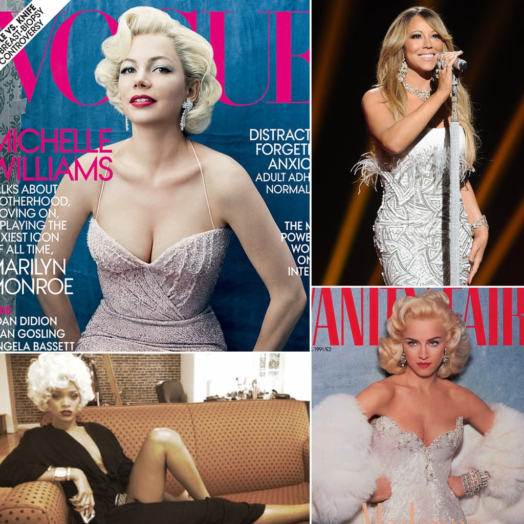 Celebrities Inspired by Marilyn Monroe