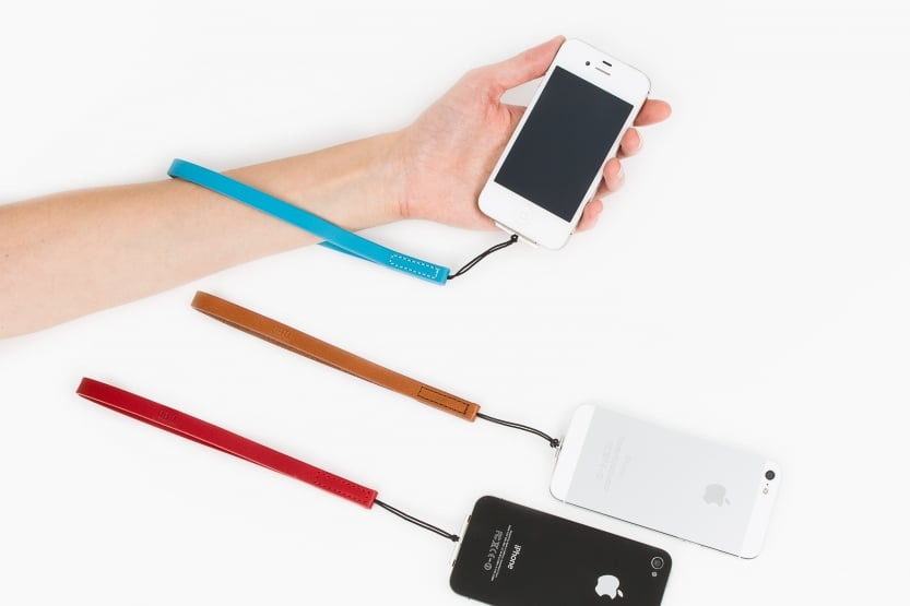 Keep your precious iPhones off the sidewalk with the iPhone Wrist Strap. ($35)