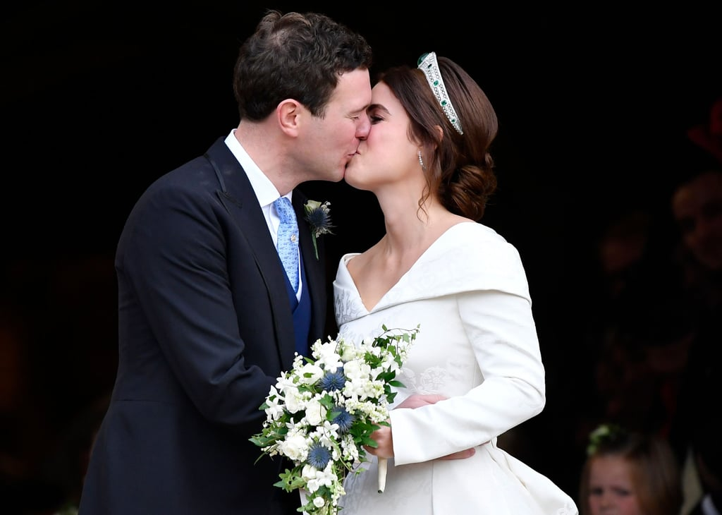 Princess Eugenie and Jack Brooksbank Kissing in 2018