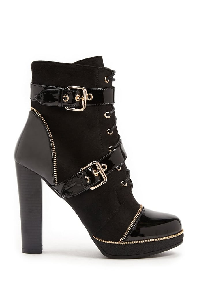 Forever 21 Combo Ankle Boots