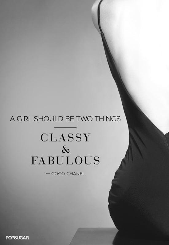 Best Coco Chanel Quotes | POPSUGAR Fashion