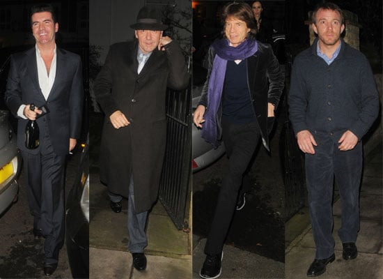 2/12/08 Lily Allen, Mick Jagger, Guy Ritchie, Kevin Spacey, Simon Cowell.