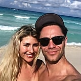 Emma Slater and Sasha Farber in Cancun March 2019
