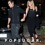 Jennifer Aniston and Justin Theroux in NYC September 2016