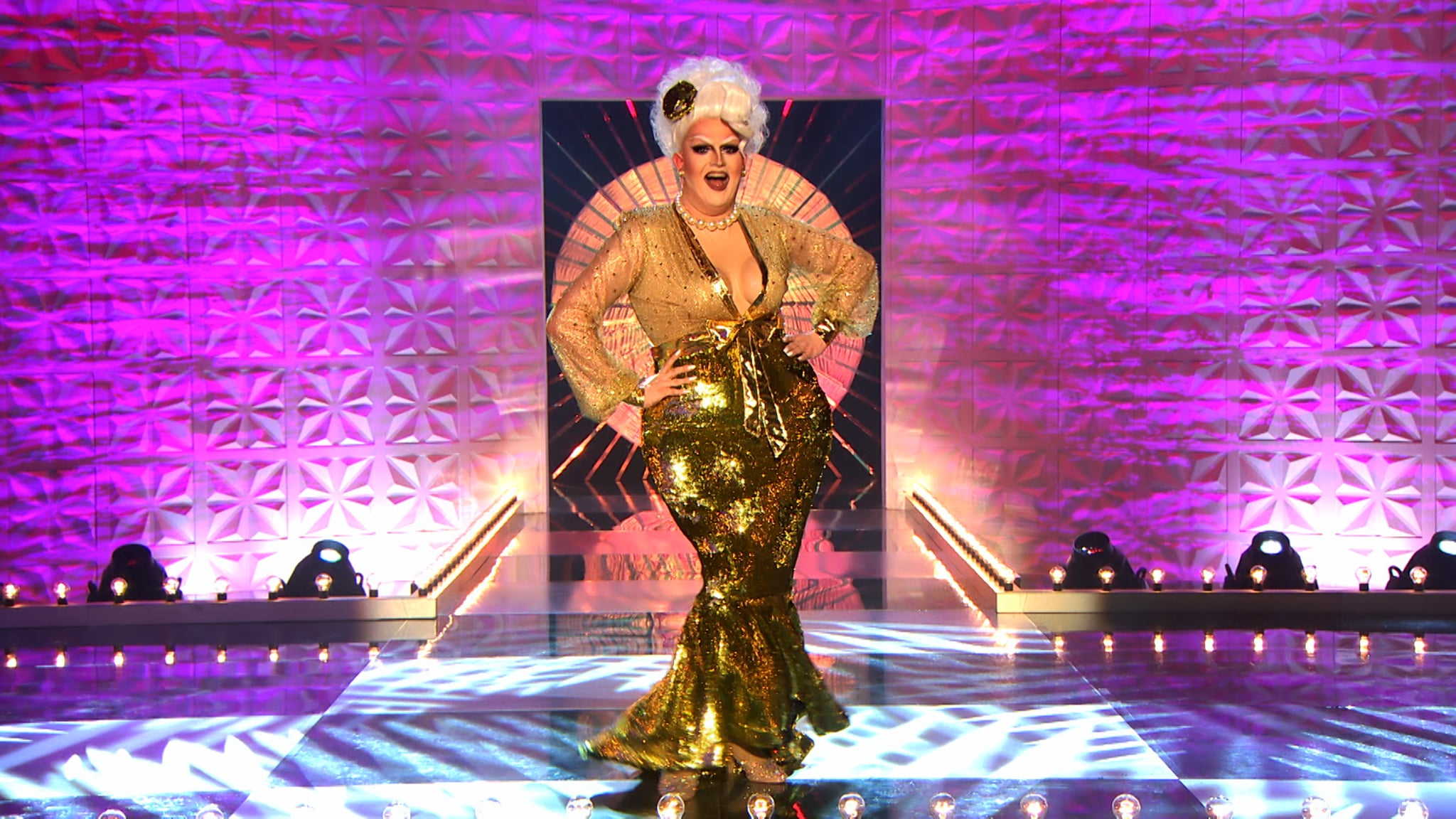 Programme Name: RuPaul's Drag Race UK series 2 - TX: n/a - Episode: RuPaul's Drag Race UK series 2 episode 3 (No. 3) - Picture Shows:  Lawrence Chaney - (C) World of Wonder - Photographer: Guy Levy