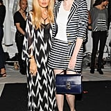 Coco Rocha joined Rachel Zoe backstage after her runway show.