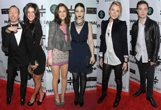 Photos of Blake Lively, Ed Westwick, Jessica Szohr, Leighton Meester and Sebastian Stan at a Party For Gossip Girl's Eric Daman 2010-01-13 10:30:00