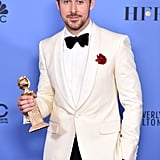 Ryan Gosling at the 2017 Golden Globes Pictures