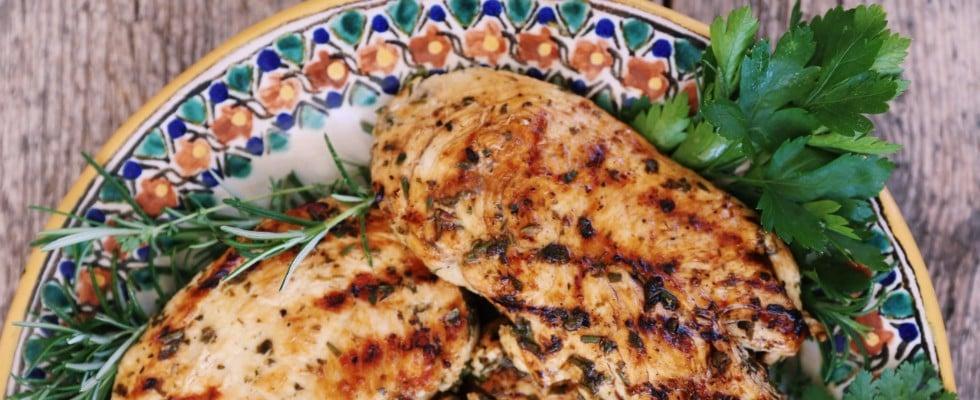 Lemon Herb Grilled Chicken Recipe