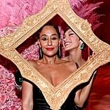 Tracee Ellis Ross and Bella Hadid — 2019
