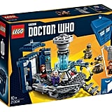 The official Lego Doctor Who set box.