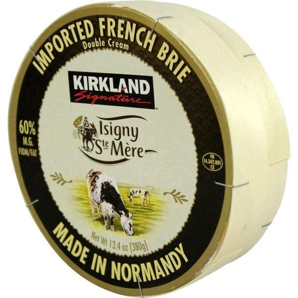 Kirkland Signature Isigny French Brie ($6 per pound)