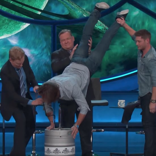 Jared Padalecki and Jensen Ackles on Conan July 2017
